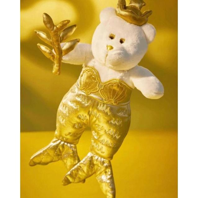 現貨在台,星巴克50週年星巴克金色限量版美人魚娃娃