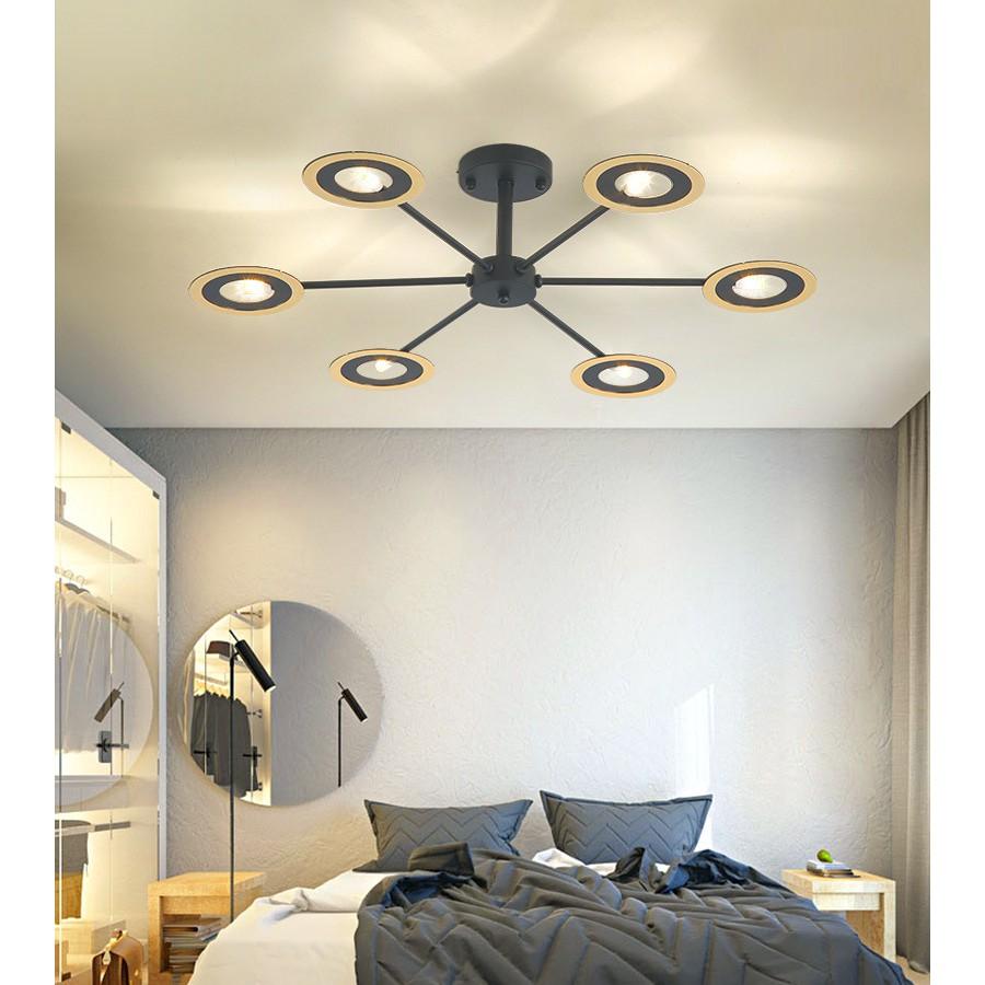 現代簡約兒童臥室燈圓形家用小客廳燈具北歐創意餐廳led吸頂燈
