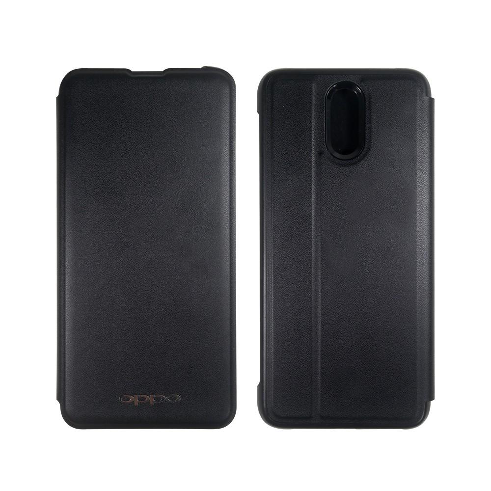 OPPO R17 原廠皮套-黑色