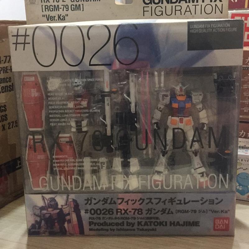 【現貨】鋼彈 初代 gundam fix figuration #0026 RX-78 GFF