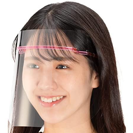 日本面罩(2WAY) [💗粉色多件組下單區💗]日本製 超輕量 防護面罩 防飛沫面罩 非sharp面罩