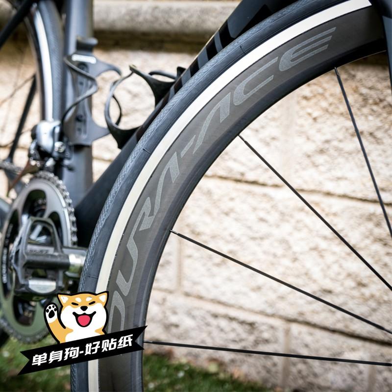 DA R9100 C24\/C40\/C60公路車輪組貼紙碳刀圈環法dura ace\/shimano