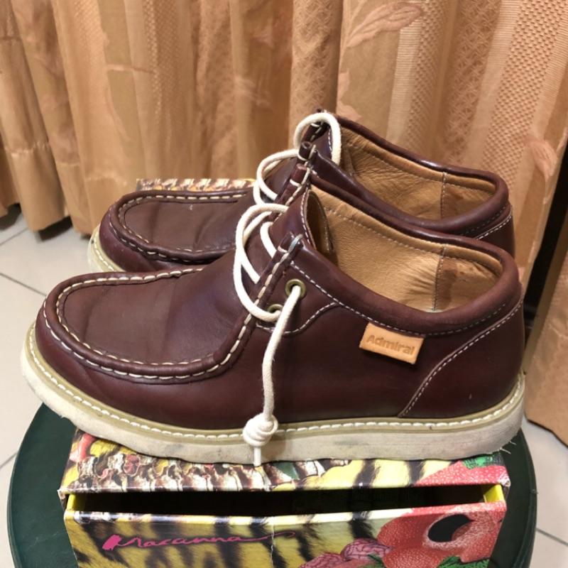 Admiral   帆船休閒皮革鞋