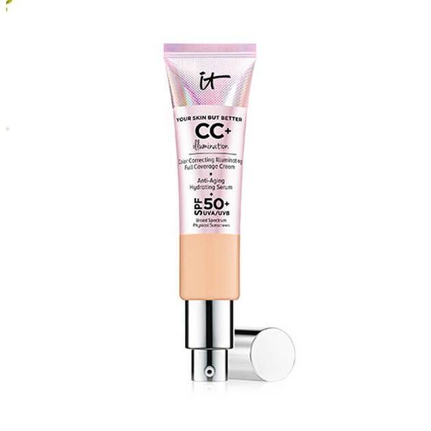 (免税店)It Cosmetics 粉管CC霜 保濕遮瑕粉底液 SPF50 32ml