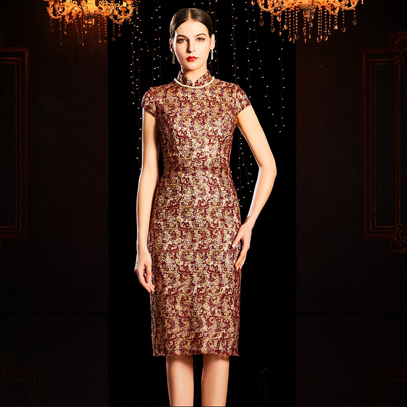 灰姑娘✨敬酒服冬季禮服裙高級質感平時可穿宴會氣質高貴優雅年會晚禮服
