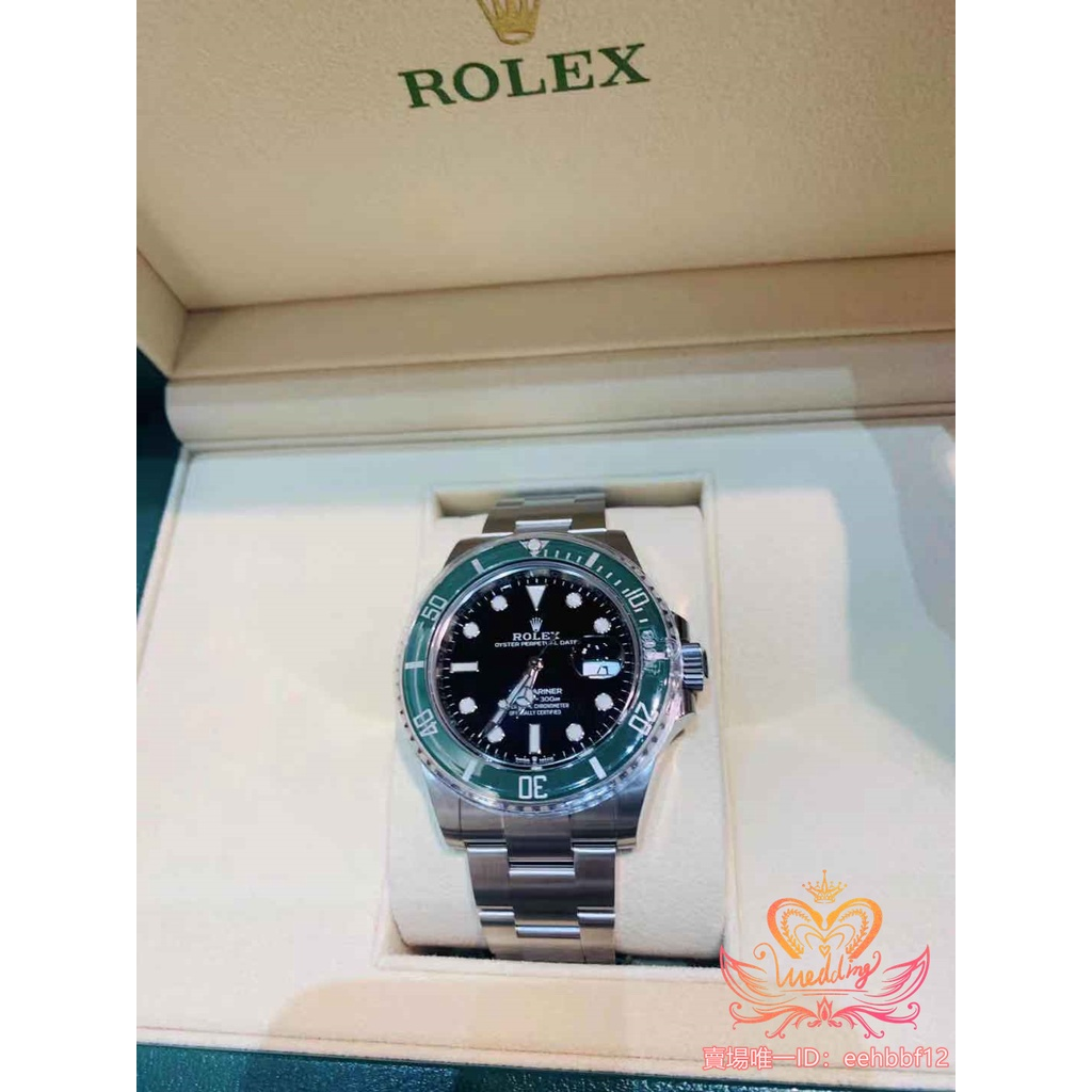 🍀【歐洲媽媽代買】正品保證 Rolex勞力士潜航者型系列m126610lv-0002腕錶(新款綠水鬼)41mm