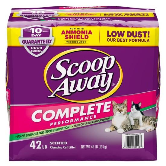 🚚含運刷卡價🐾Scoop Away 超凝結貓砂 19公斤 紫包 🐾衝評價🐈好市多代購