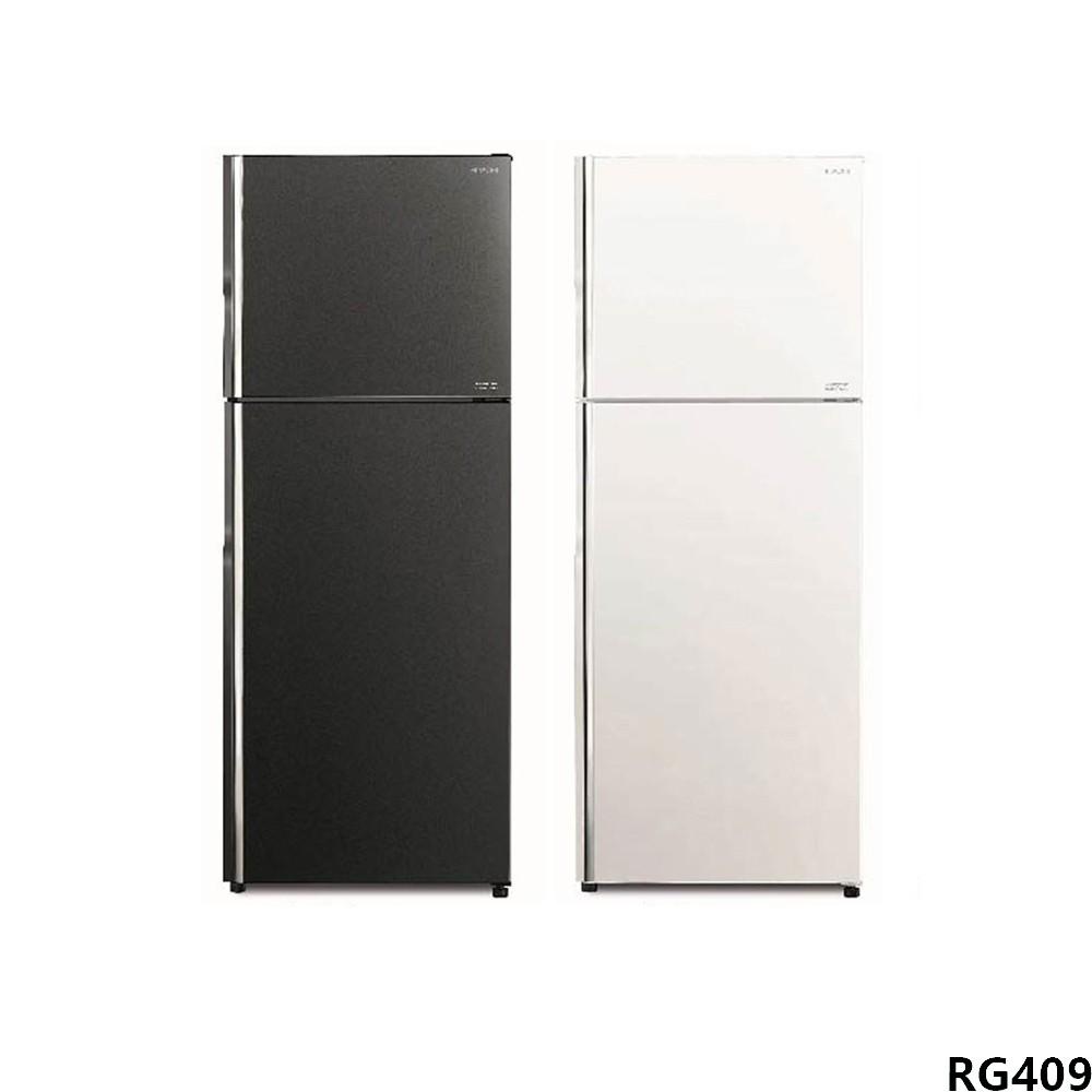 日立Hitachi 403公升 一級能效雙門變頻冰箱 RG409 廠商直送