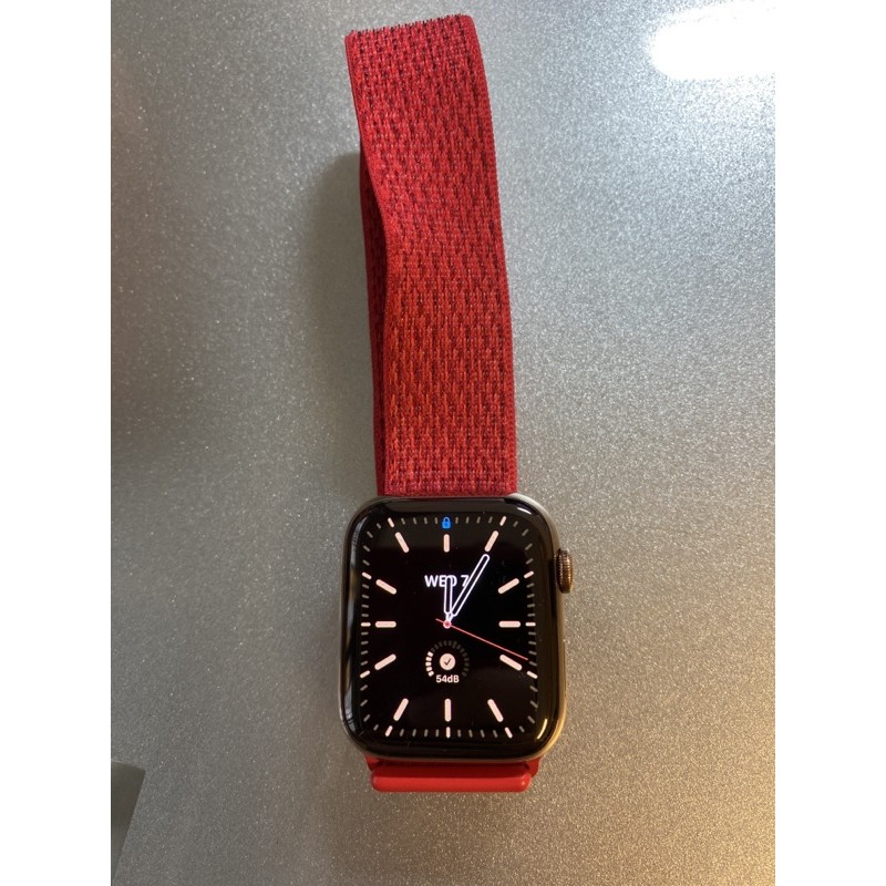 apple watch 4 lte 不鏽鋼金 44mm