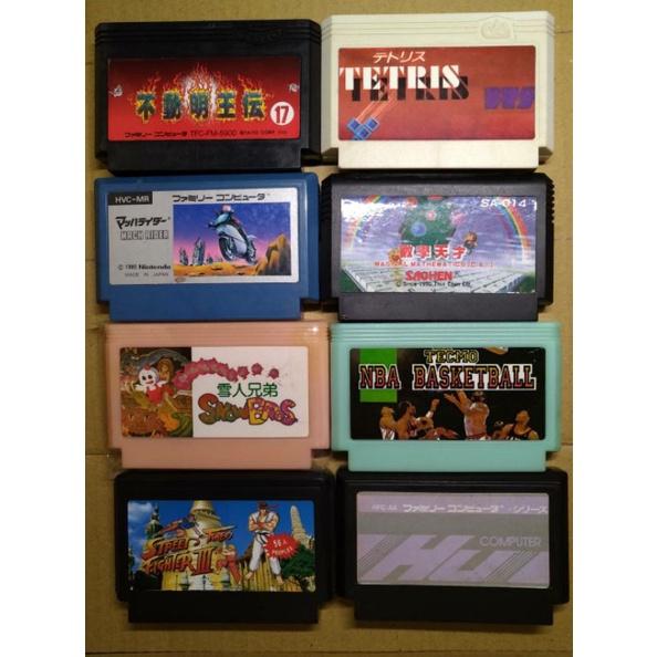 任天堂紅白機 二手遊戲卡帶 卡匣 (3區) ~ 二手卡帶出清每片100元