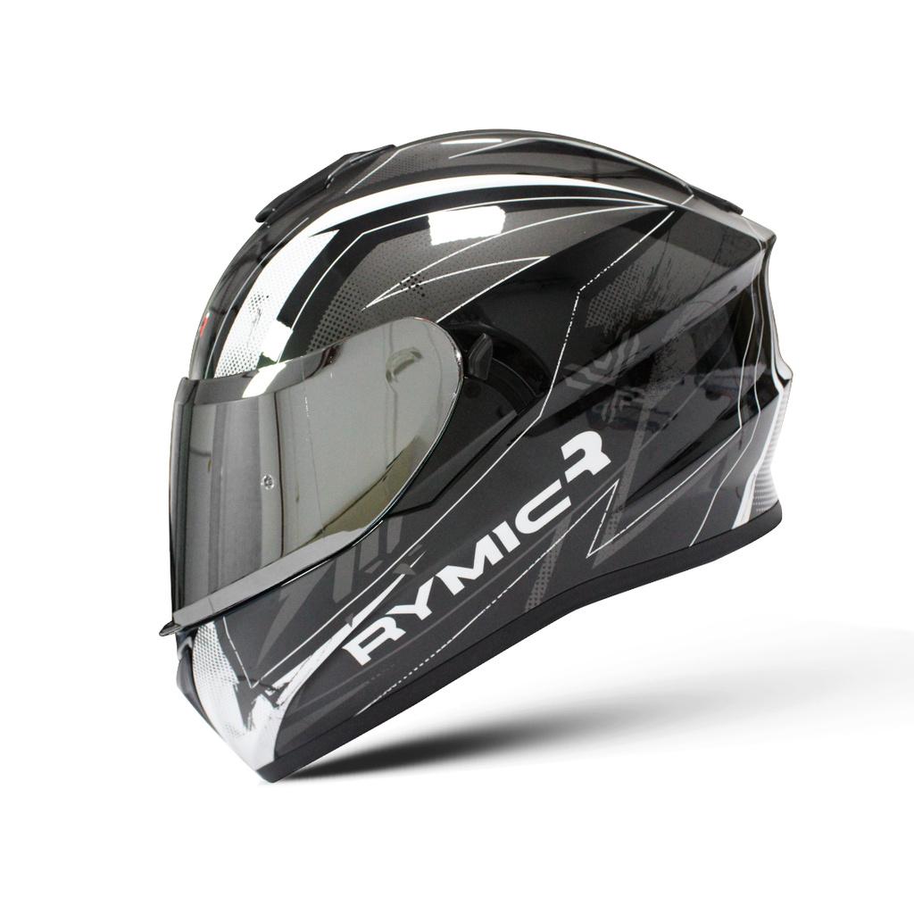 全罩式安全帽  RYMIC R981SV 可拆洗 耳機槽 安全帽 雙鏡片