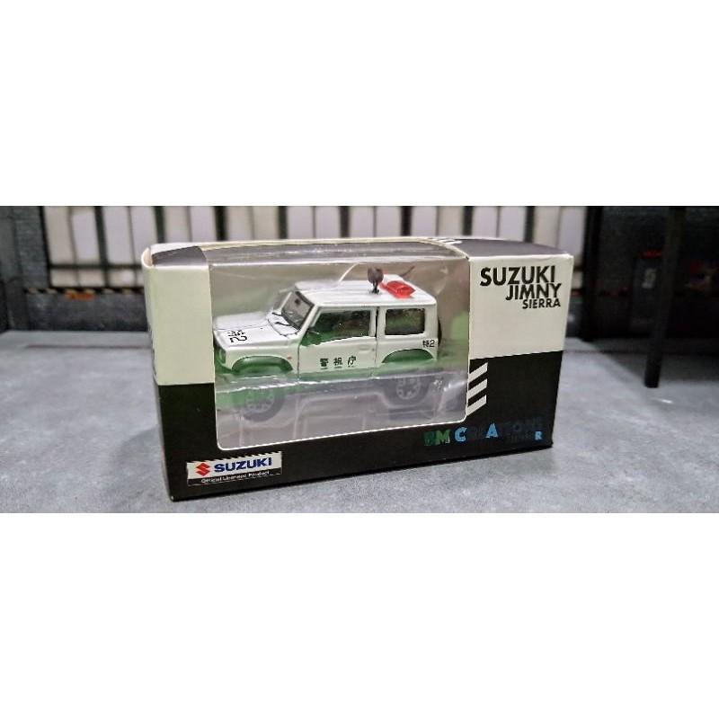 (現貨)BM Creation 1/64 Suzuki jimny Sierra警車版