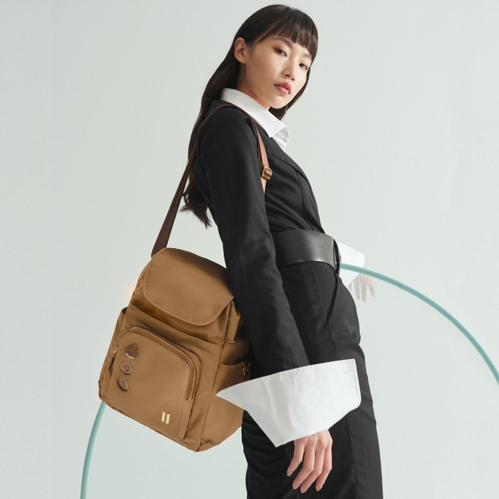 ☆SUMDEX☆人體工學設計 高級後背包 網路最低價 經典 商務 後背包 都會 筆電包 真果 765TN-HN 褐色