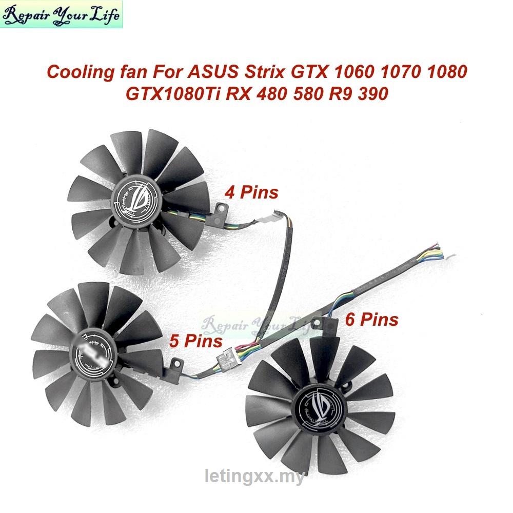 華碩 Strix Gtx 1060 1070 1080 Gtx1080ti Rx 480580 R9 390 T 的 8