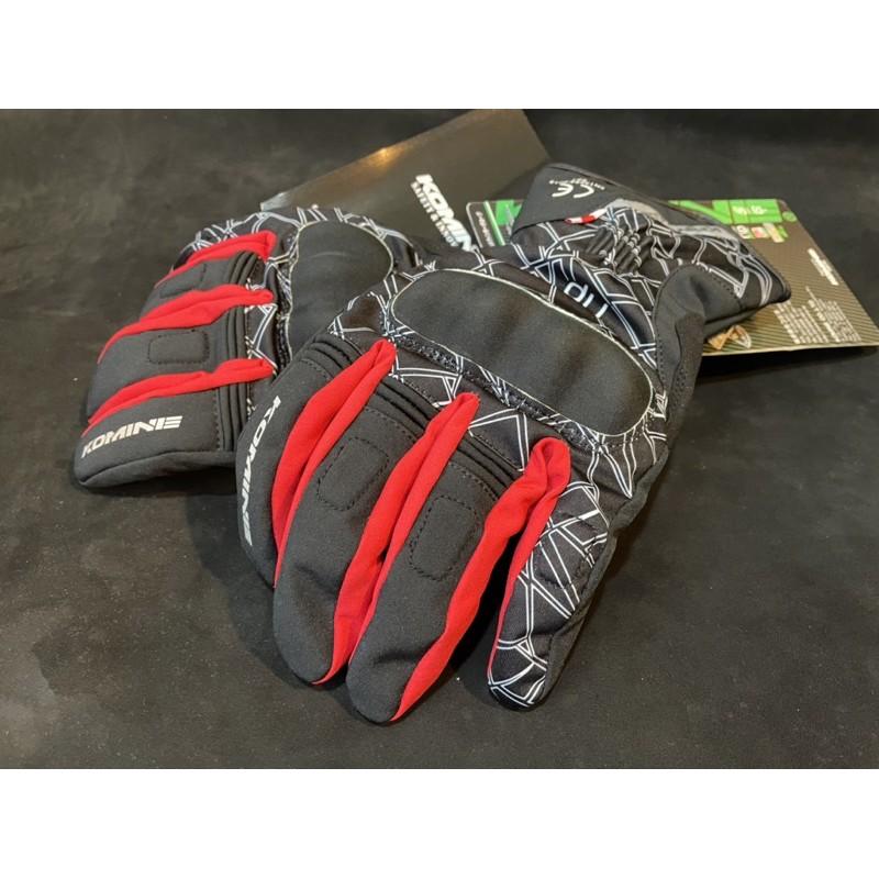 Komine GK-826冬季 禦寒 長手套 護具 實用保暖