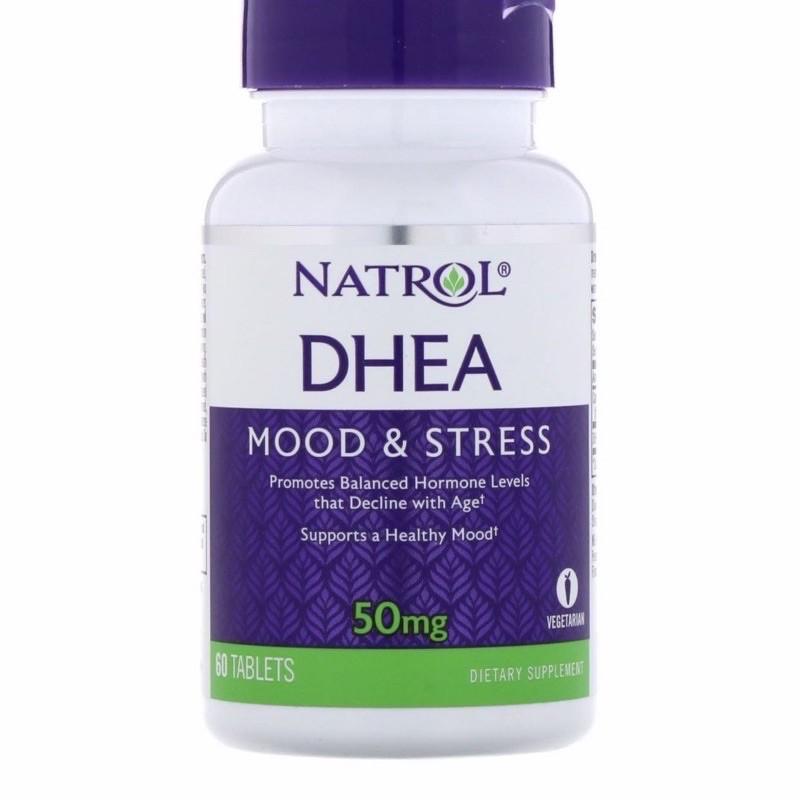 NATROL DHEA 脫氫表雄酮 50mg 60錠 現貨