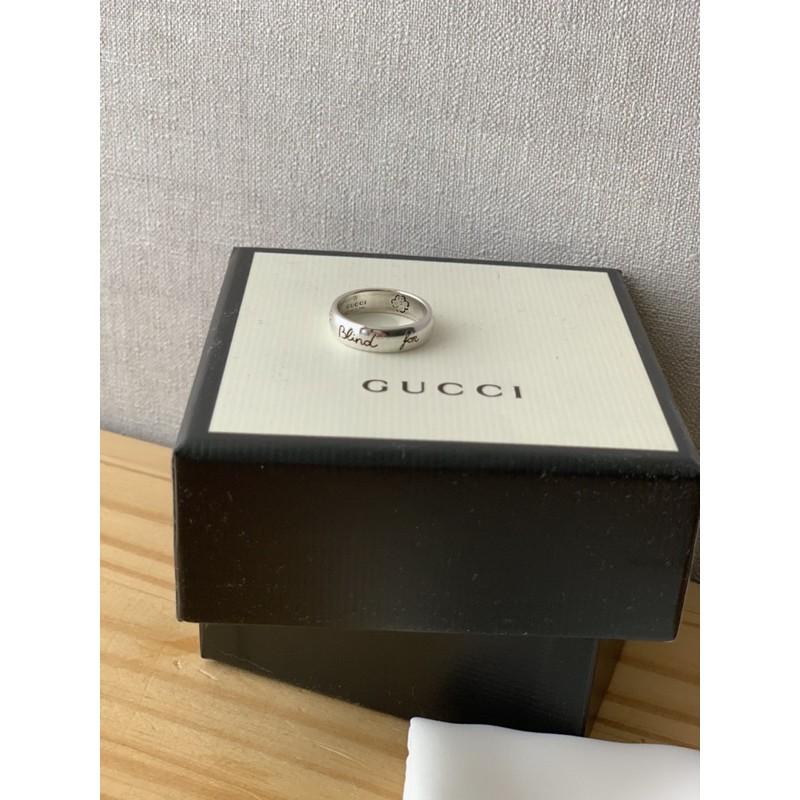 Gucci純銀戒指925