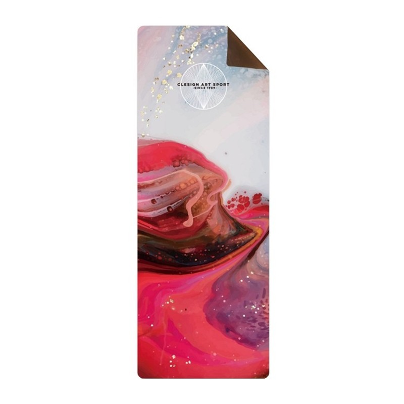 【Clesign】OSE Yoga Travel Mat 旅行瑜珈墊 1mm - ART15 The Red Sea