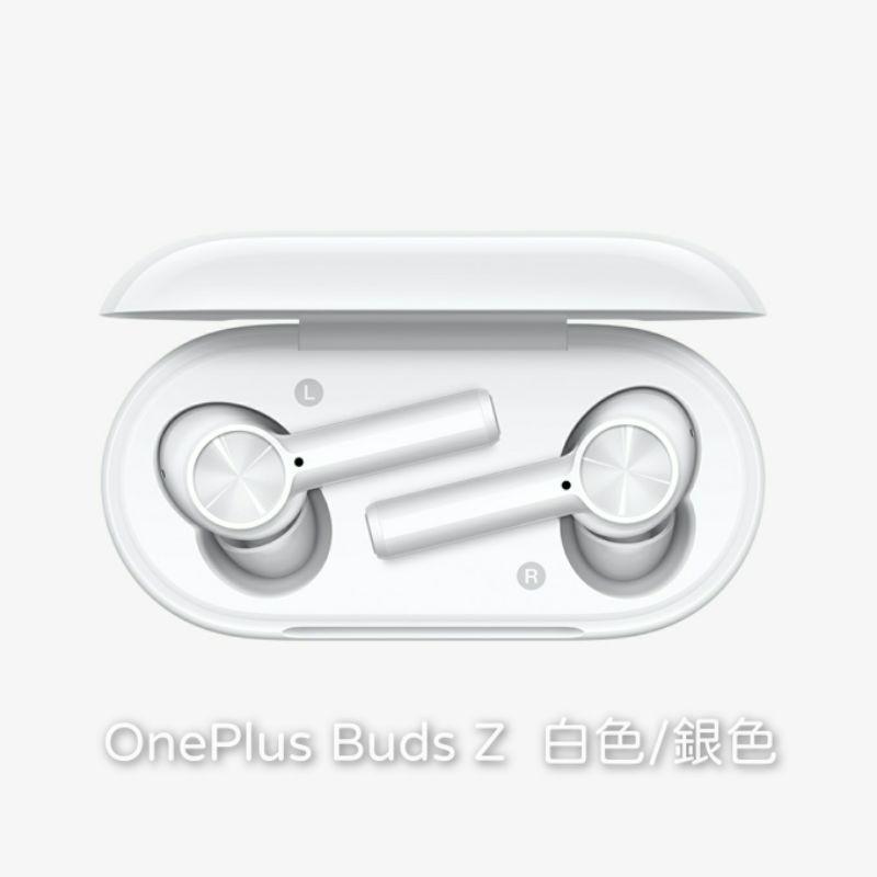 "OnePlus Buds Z ""真無線耳機"" 白色、銀色"