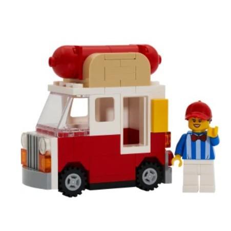 三款 LEGO 30569 樂高攤車 6381936 HOT DOG TRUCK  城市系列收納箱
