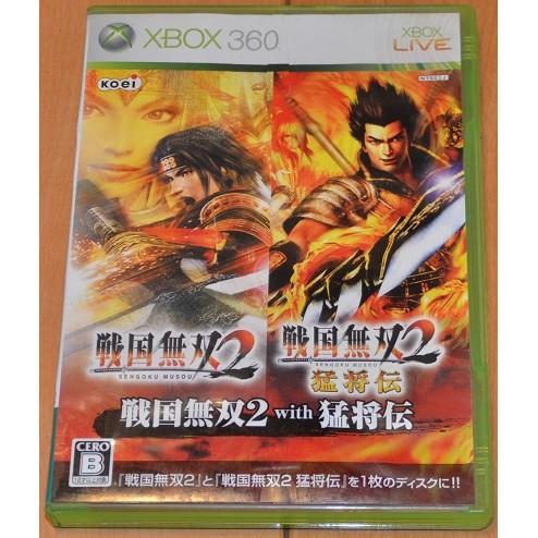 Xbox360 戰國無雙 2 with 猛將傳 日版