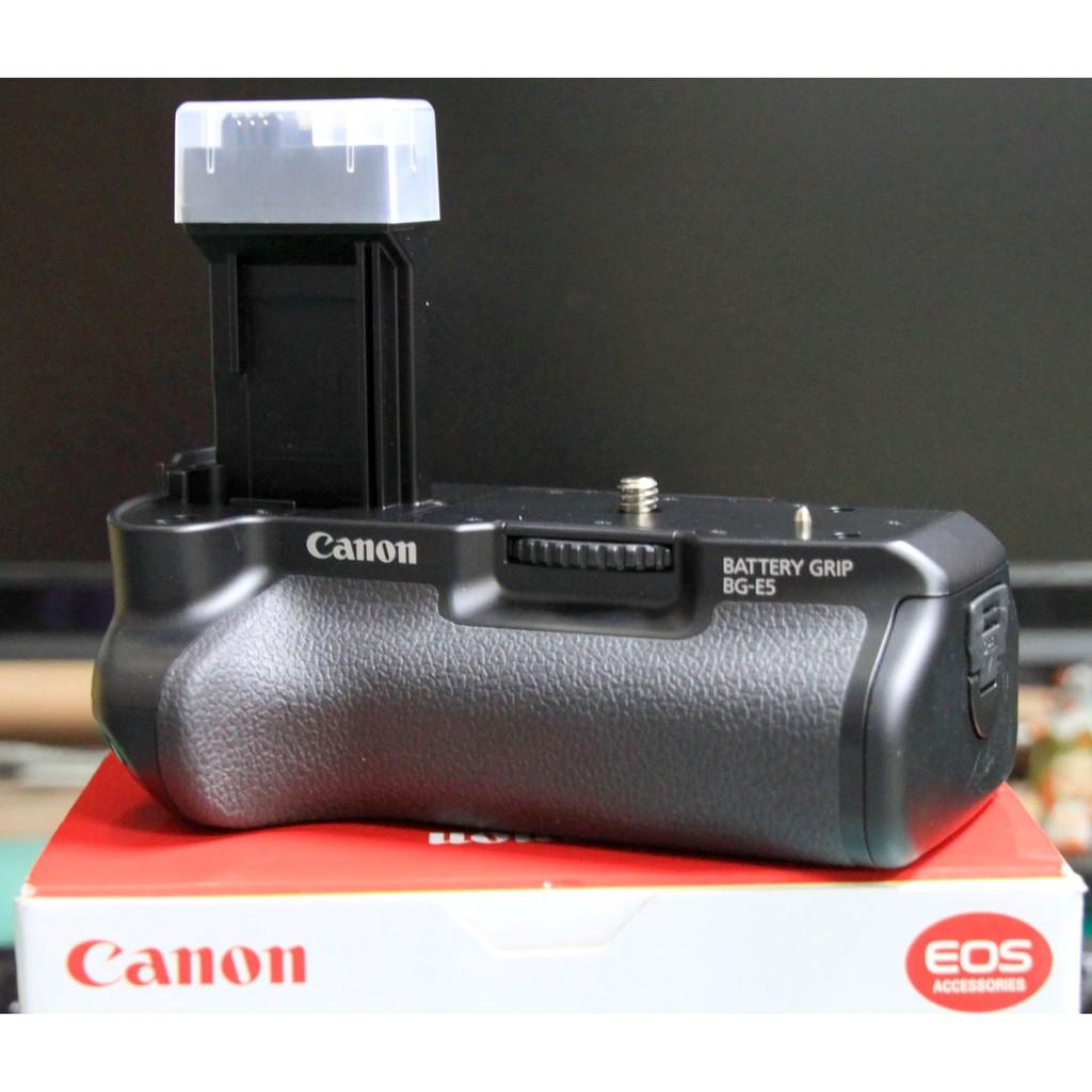 單眼相機垂直手把📸原廠Canon BG-E5📸450D/500D/1000D垂直把手BGE5♺二手商品♺