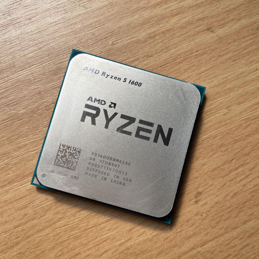 AMD 超微 RYZEN R5-1600/3.2 六核 6C12T AM4