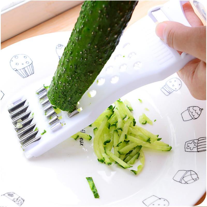 【♥大量現貨❥廚房好幫手♥】多功能廚房家用切菜器土豆絲蘿蔔絲黃瓜切片器刨絲擦菜器