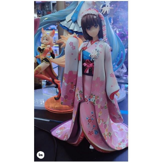 Aniplex 加藤惠 和服 路人女主角的養成方法 聖人惠花色衣