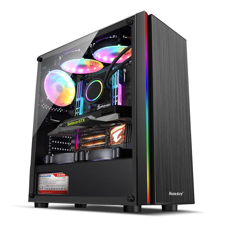 新店殺價🔥官方授權 Intel i5 10400F/RTX2060/3060Ti 8G電競遊戲臺式DIY電腦組裝主機