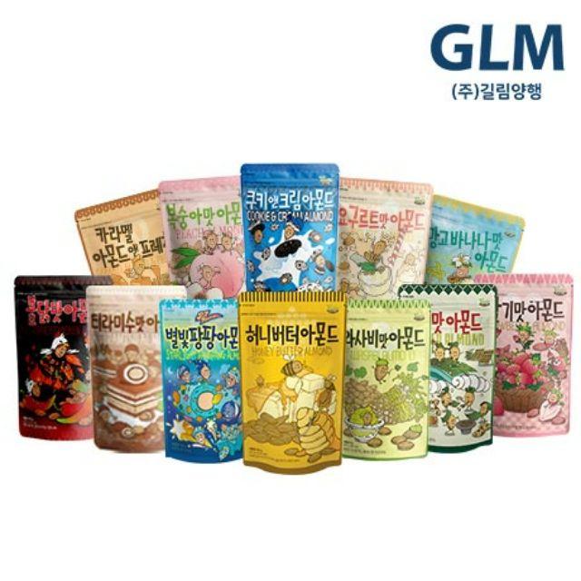 韓國 Toms gilim 水蜜桃口味杏仁果 草莓 蜂蜜奶油 芥末 羅勒青醬 香蕉芒果 海苔 辣雞等十種口味