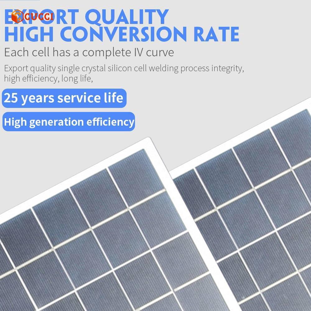 4W太陽能電池板太陽能電池板55 * 21單面板太陽能電池板多功能逆變器Sunpower