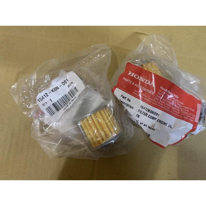 Honda cb350 原廠 機油 濾芯 機油芯 油芯 o環 15410-K0N-D01 91301-mg8-003