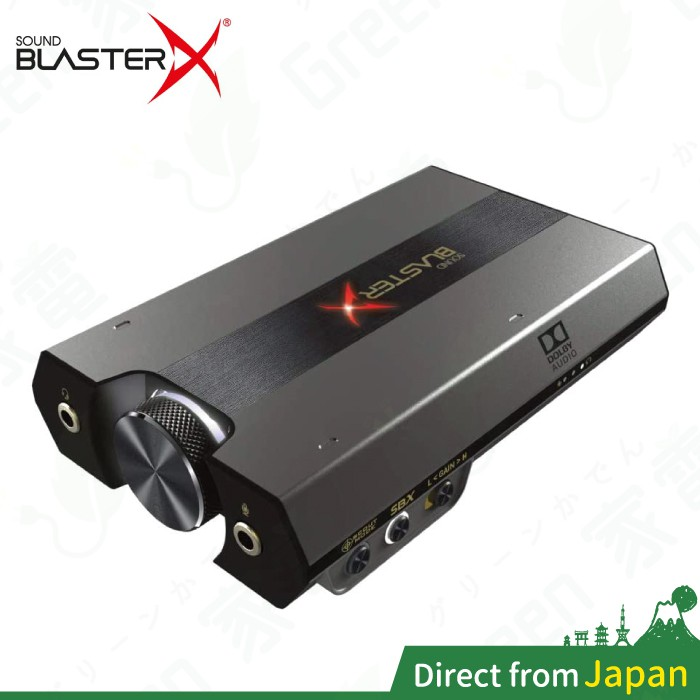日本 Creative SBX-G6 DAC耳擴 Sound BlasterX G6 杜比 7.1聲道 USB 音效卡