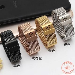 低價現貨 貨號CK手表帶K2G211/ 231 K2Y211/ 236 K2Y2Y1/ X1超薄米蘭網帶男+333