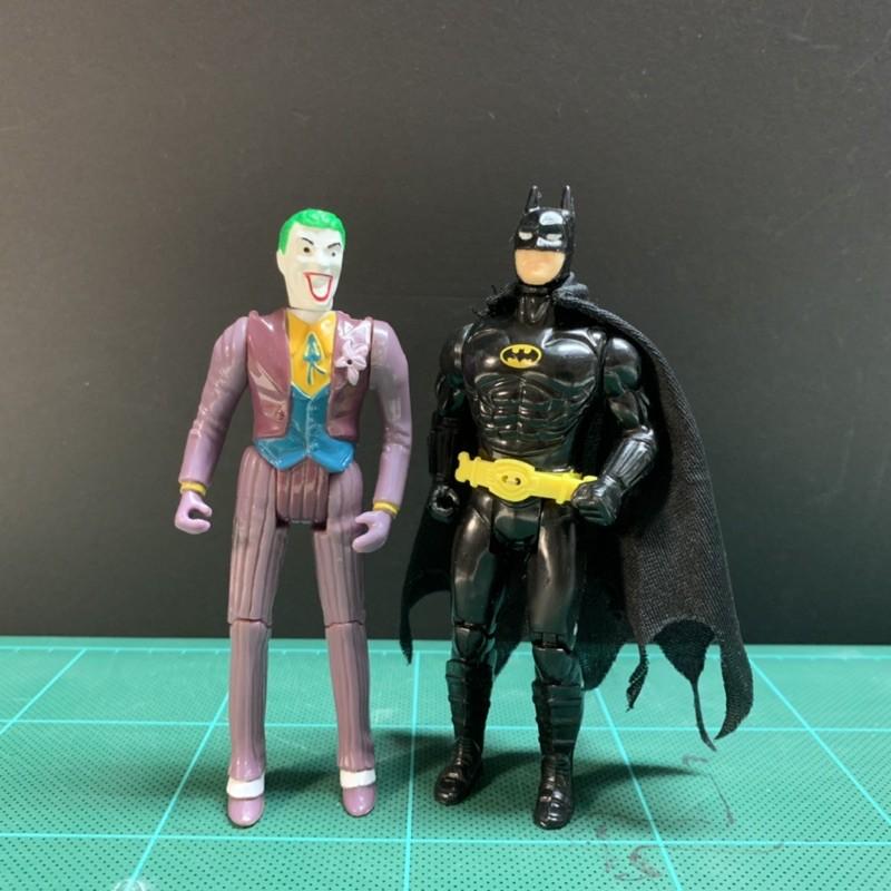 1989 Kenner 蝙蝠俠 + 小丑 兩人合售Batman DC