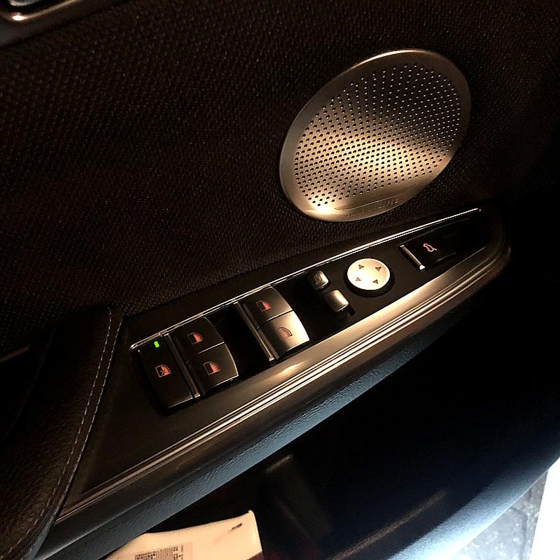 【BMW】X3.X4專屬四門車窗按鍵鍍鉻裝飾面板