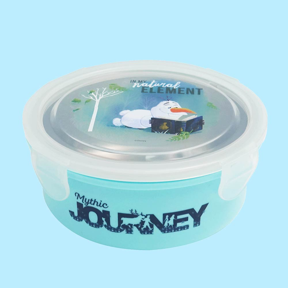 [新品現貨]《迪士尼Disney 》雪寶 不鏽鋼隔熱碗《台灣製造》