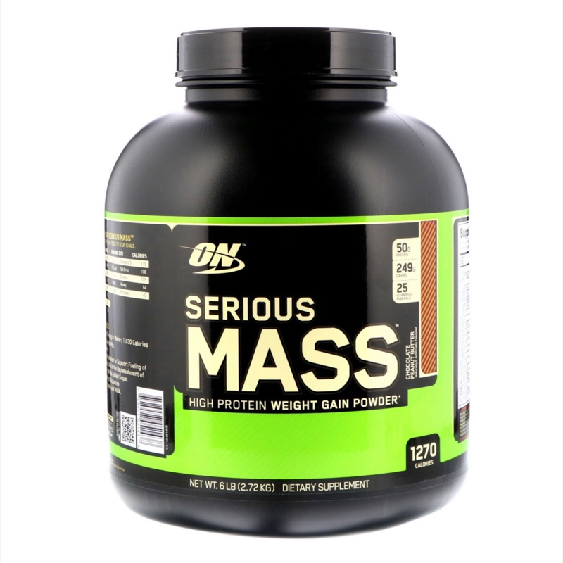 On serious mass 增重蛋白 花生巧克力