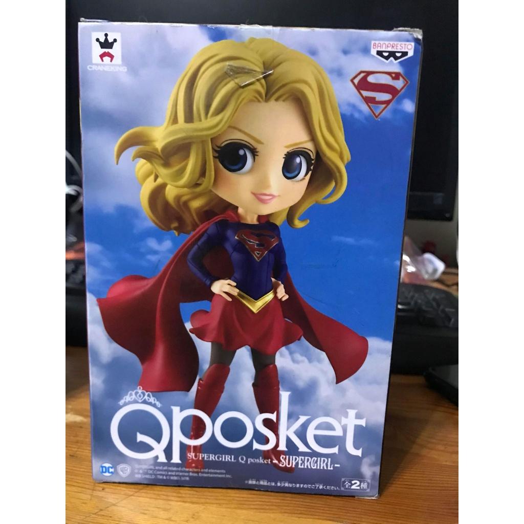 正版 日版 Qposket 女超人 SUPERGIRL 卡娜 佐 艾爾 全新 公仔 景品 現貨 女超人 正義聯盟 A款