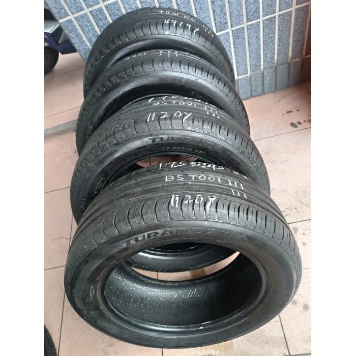 195 55 R 15 普利司通 T001 20年製造 9成新 二手 中古 落地 輪 胎 1輪1300元
