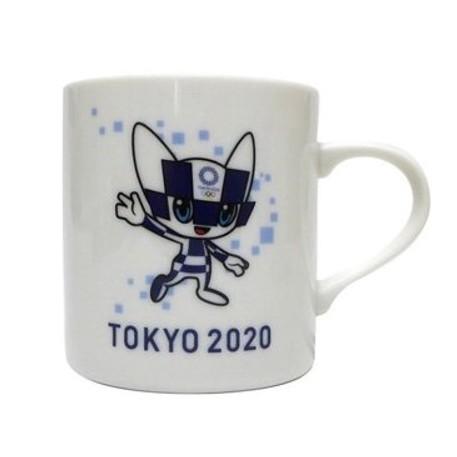 筆自慢殿堂 日本製 東京奧運 紀念品 2020 東京奧運周邊商品 馬克杯 陶瓷製 盒裝 杯子 水杯