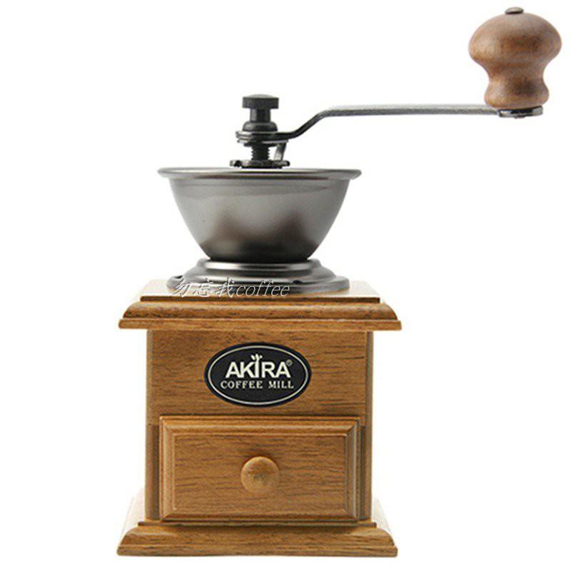 台灣正晃行AKIRA手搖磨豆機家用研磨機咖啡粉碎機手動A-1 aM4d
