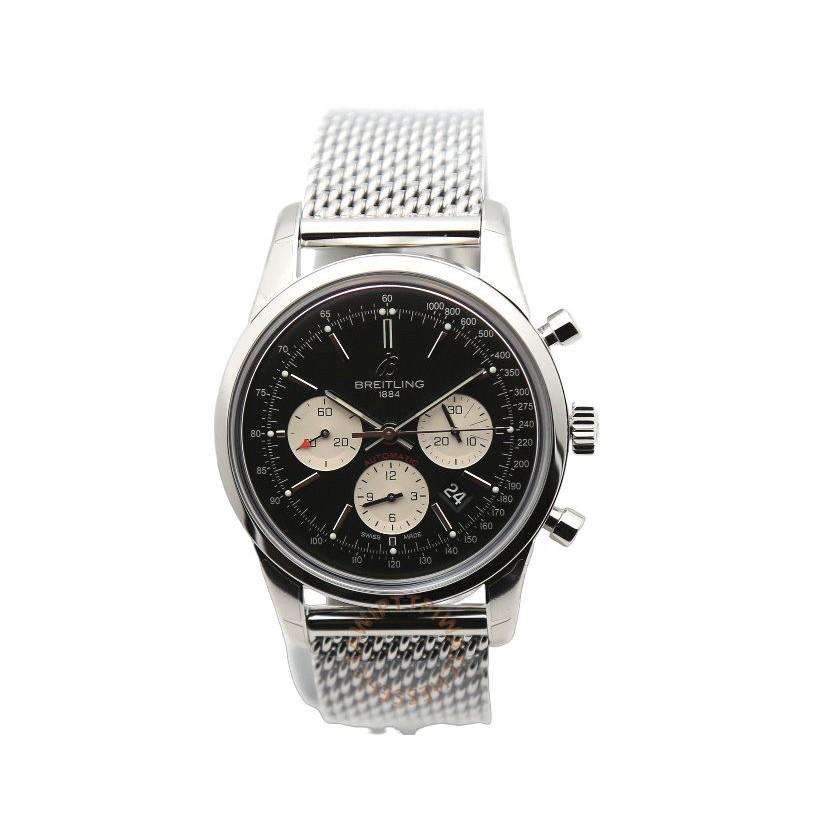 BREITLING 百年靈 TRANSOCEAN 越洋計時腕錶 AB015212/BF26/154A