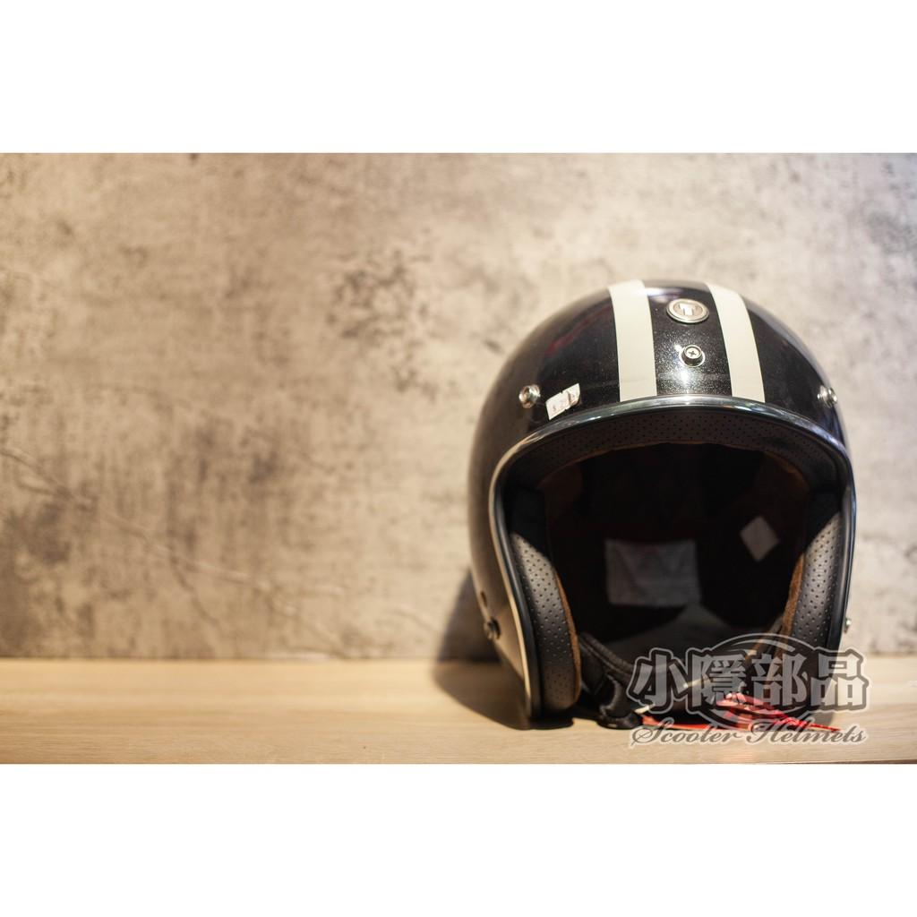 【S.Y部品】出清特價 TORC T50-Cali 亮黑 飛虎隊 復古帽 三扣式安全帽 加大耳窩 兩頰可拆 麂皮內襯