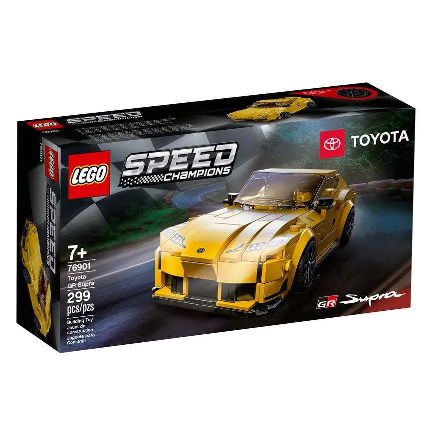 【有盒損】 樂高 LEGO 極速賽車系列 Toyota GR Supra 76901 模型車 汽車