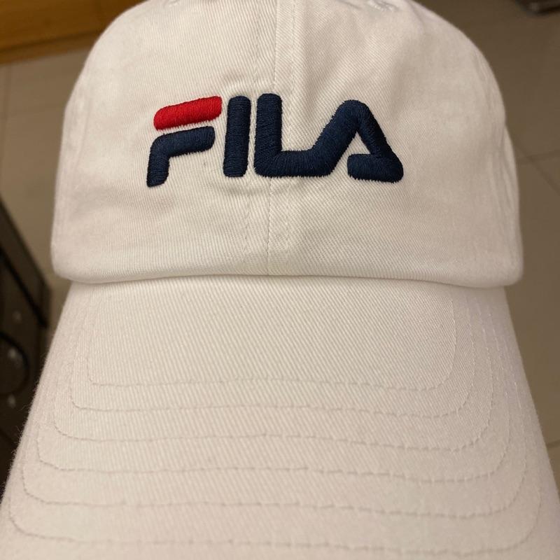 FILA經典白色帽子-Costco