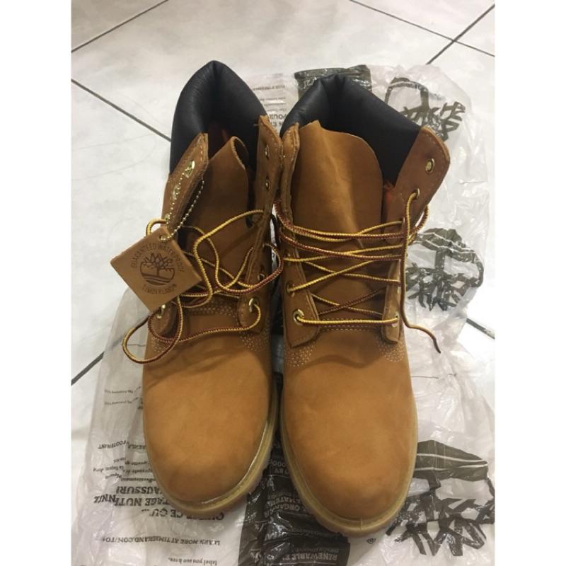 Timberland 經典黃靴 美國帶回 size 9W women 約26cm 正品