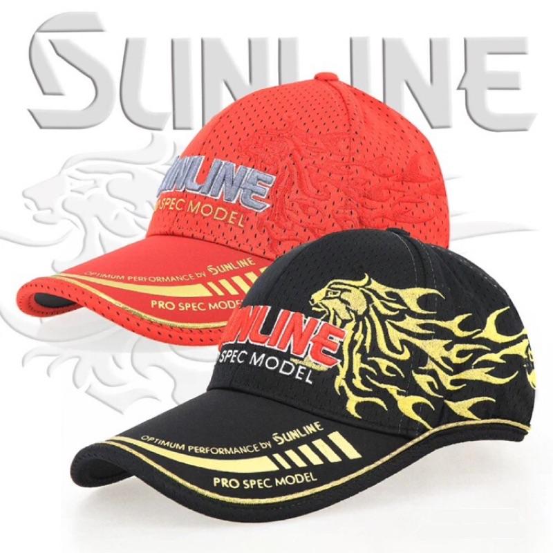 代購 夏季sunline桑瀨輕薄透氣戶外釣魚帽