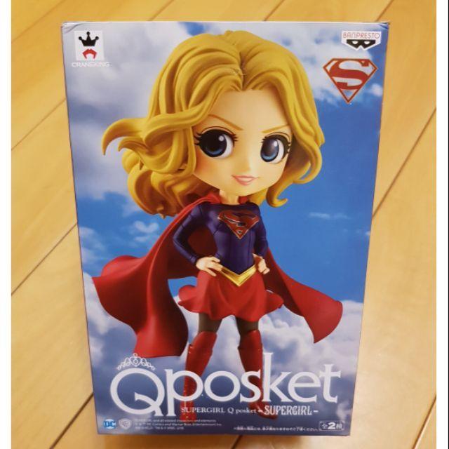 【Qposket】代理正版 女超人Q版公仔 正義聯盟/Comics DC 漫畫/Supergirl/A款/金髮 現貨供應